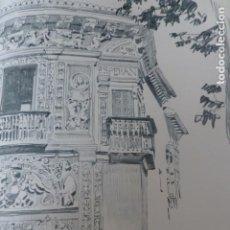Arte: GRANADA CASA DE CASTRIL LITOGRAFIA 1915 ASPIAZU ILUSTRADOR 24 X 31 CMTS. Lote 200864206