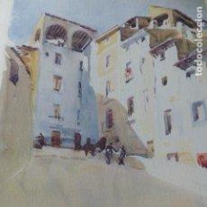 Arte: TARAZONA ZARAGOZA PLAZA LITOGRAFIA 1925 POR V. H. BAILLEY . Lote 201154260