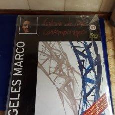Arte: ÁNGELES MARCO,INTERESANTE LITOGRAFÍA DE COLECCION,GALERIA DE ARTE CONTEMPORANEO,EN BUEN ESTADO. Lote 201186795