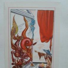 Arte: COLECCIÓN DE CUATRO LITOGRAFÍAS DE SALVADOR DALÍ, 1947, NEW YORK. Lote 201548808