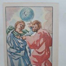 Arte: 3 LITOGRAFÍAS SALVADOR DALÍ, 1947, NEW YORK. Lote 201549025