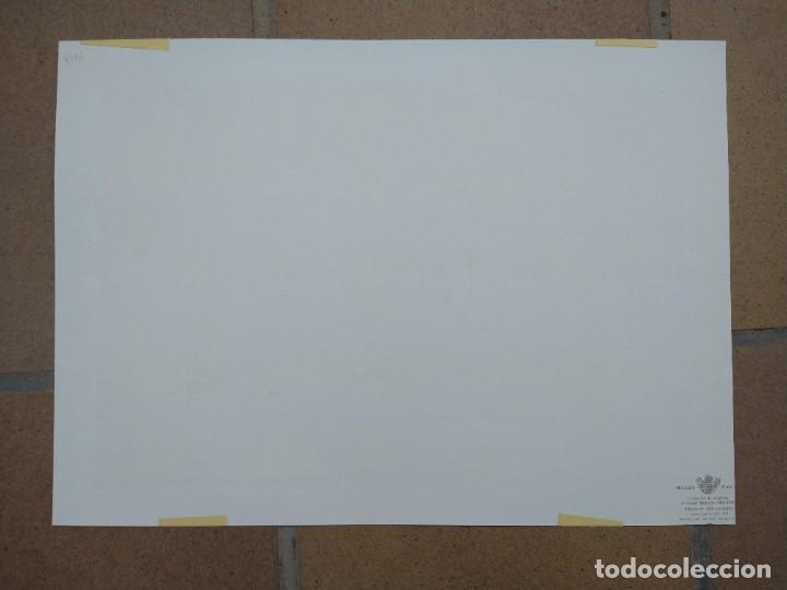 Arte: RAFAEL MONLEÓN TORRES. Navío inglés de 1637. Litografía firmada en plancha sin numerar. - Foto 5 - 201757736