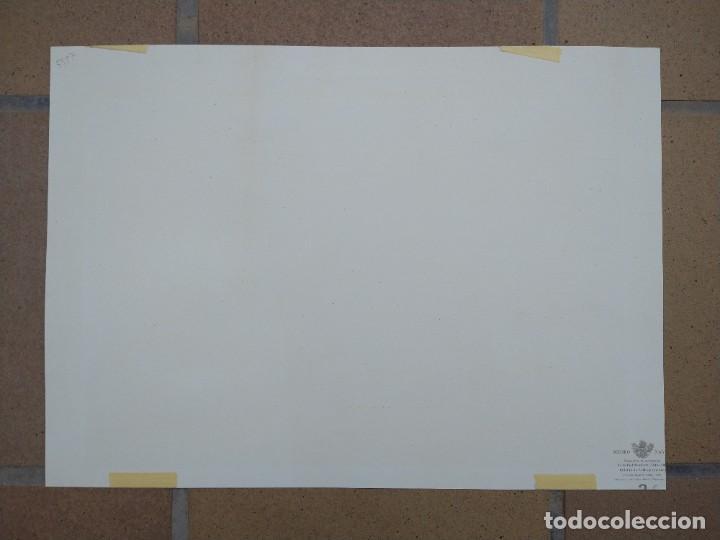 Arte: RAFAEL MONLEÓN TORRES. Navíos franceses del siglo 17 y 18. Litografía firmada en plancha sin numerar - Foto 5 - 201758036