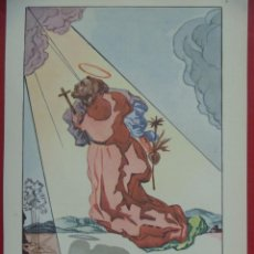 Arte: SALVADOR DALÍ, 1947, NEW YORK ORIGINAL LITHOGRAPHY. Lote 201957471