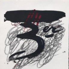 Arte: LITOGRAFÍA DE ANTONI TÀPIES - NUMERADA Y FIRMADA A LÁPIZ. Lote 202025910