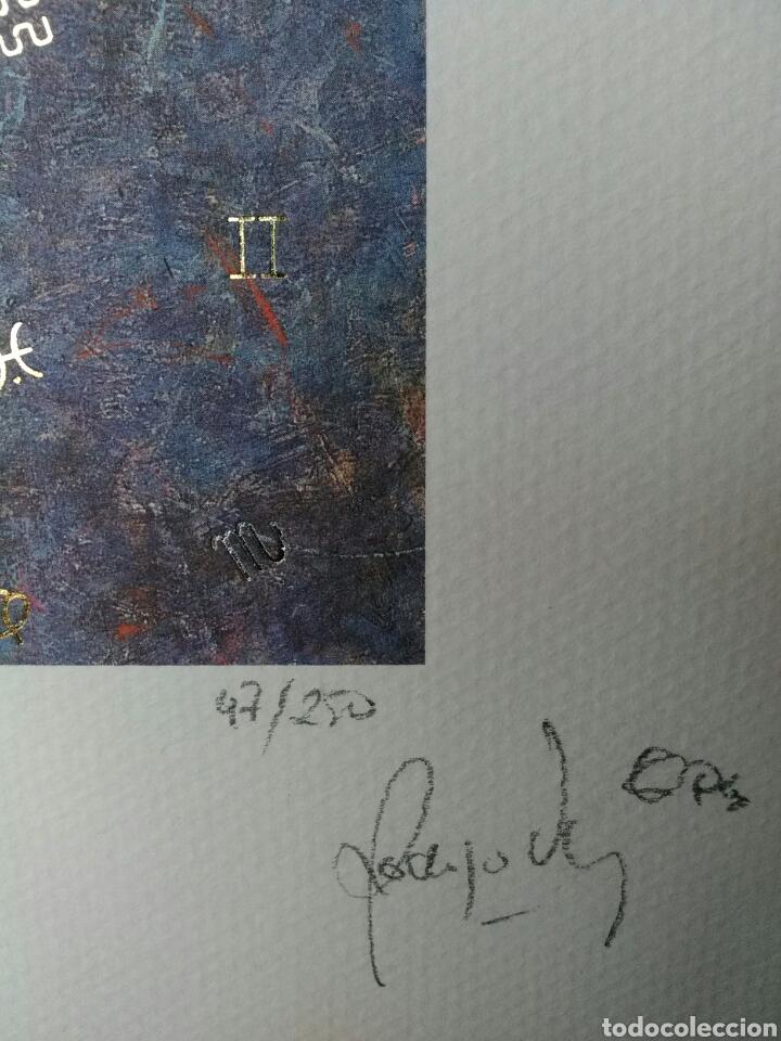 Arte: ☆LITOGRAFÍA+CERTIFICADO. FELIPE RODRIGO☆ED.ESPECIAL LUJO☆LIMITADA 250EJ.PLATA/BAÑO ORO LEY☆FIRMADA.☆ - Foto 4 - 202081896