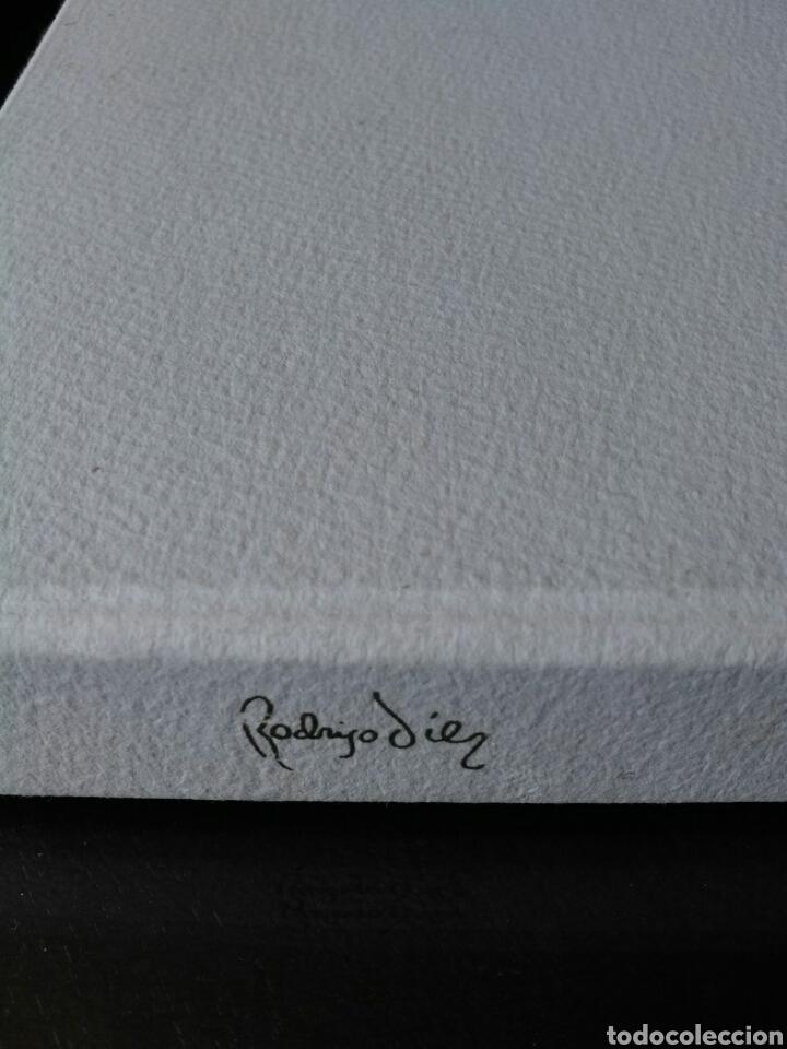 Arte: ☆LITOGRAFÍA+CERTIFICADO. FELIPE RODRIGO☆ED.ESPECIAL LUJO☆LIMITADA 250EJ.PLATA/BAÑO ORO LEY☆FIRMADA.☆ - Foto 17 - 202081896