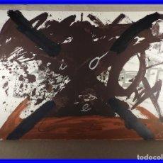 Arte: LITOGRAFIA DE ANTONI TAPIES BERLINER SUITE 1974 FIRMADO Y NUMERADO. Lote 202259192