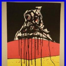 Arte: LITOGRAFIA DE ANTONIO SAURA EL RUEDO 1967 FIRMADO Y NUMERADO. Lote 241872850