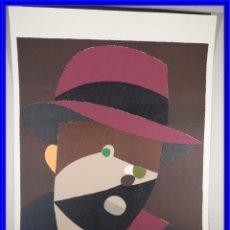 Arte: LITOGRAFIA DE EDUARDO ARROYO SOCRATES 1989 FIRMADO Y NUMERADO. Lote 202260000