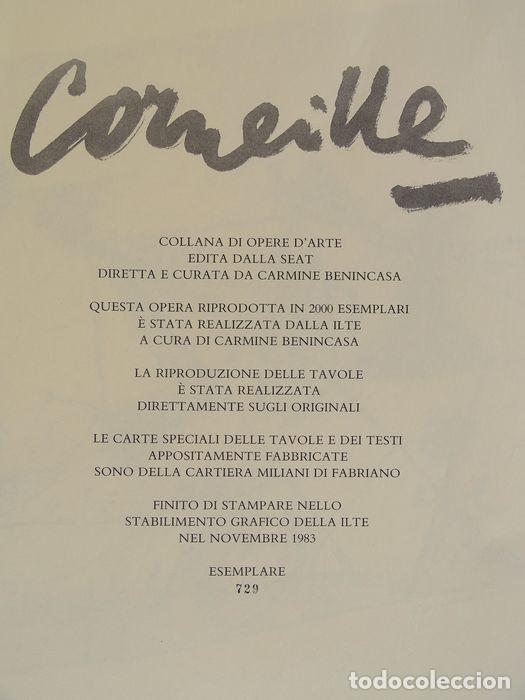 Arte: Corneille (Guillaume Cornelis van Beverloo) con certificado de autenticidad o justificante de la tir - Foto 6 - 202282212