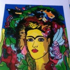 Arte: JURGEN GRAFE.FRIDA KAHLO. FIRMADA. NUMERADA. LIMITADA A SÓLO 10 EJEMPLARES.. Lote 158665500