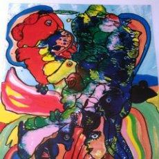 Arte: JURGEN GRAFE.FIRMADA. NUMERADA. LIMITADA A SÓLO 10 EJEMPLARES.. Lote 158666430