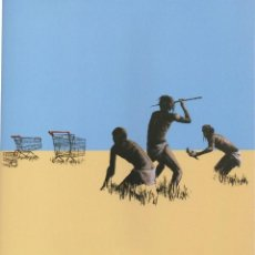 Arte: BANKSY - TROLLEYS HUNTERS.. Lote 202782193