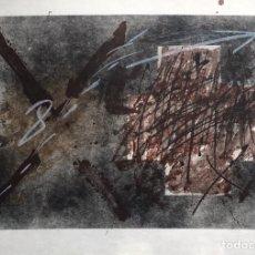 Arte: LITOGRAFÍA DE ANTONI TÀPIES - NUMERADA Y FIRMADA A LÁPIZ. Lote 202894135