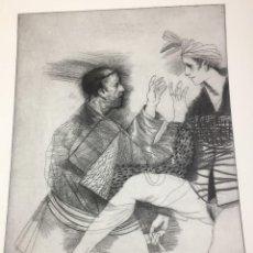 Arte: TÓCAME LA CARA OCULTA DEL DESEO. MIGUEL CONDÉ. FIRMADA Y NUMERADA 17/30. 70 X 50 CMS.. Lote 202908968