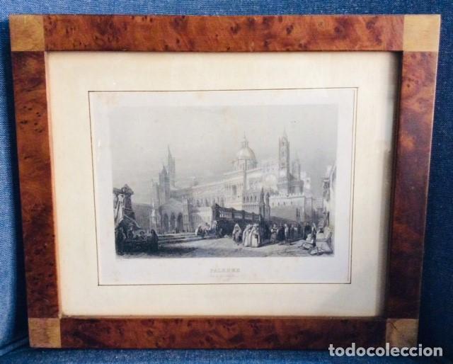 Arte: 3 LITOGRAFIAS PISA - PALERMO - FERRARA. MARCO RAIZ DE NOGAL Y ROBLE. - Foto 2 - 204324625