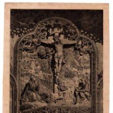 Arte: SALAMANCA.- REMATE LA FACHADA DE LA CATEDRAL. LIT. POR S. YSLA. F.X.PARCERISA. 24,5X17,5. Lote 204676566