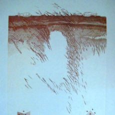 Arte: LITOGRAFIA DE JOAQUIN MICHAVILA. Lote 205173451