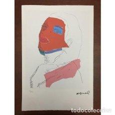 "Arte: LITOGRAFIA ANDY WARHOL ""DRAG QUEEN"". Lote 205319412"