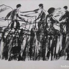 Arte: ANTONIO LAGO. LITOGRAFÍA XIX/XX 1961 50X35. Lote 205472112
