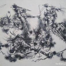 Arte: LORENZO GOÑI. EL SUEÑO DE DON QUIJOTE V/XX 1960. Lote 205474396