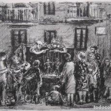 Arte: SIMÓ BUSOM GRAU: TÍTERES. 33/50. Lote 205518497