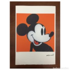 Arte: LITOGRAFIA ANDY WARHOL MICKEY MOUSSE. Lote 205680370