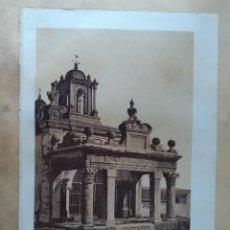Arte: LITOGRAFÍAS SIGLO XIX DEL ACUEDUCTO DE SEGOVIA, PUERTA DEL SOL EN TOLEDO Y TEMPLO MARTE MÉRIDA. Lote 205848150