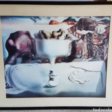 Arte: SALVADOR DALÍ , MAGNÍFICA LITOGRAFIA DE UNA OBRA DE LA ETAPA MAS SURREALISTA , AÑOS 80. Lote 206528920