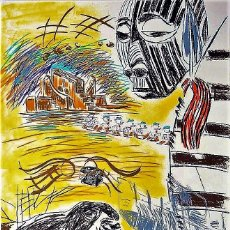 Arte: CARLOS PAZOS CHROMO -2 LITOGRAFÍA ORIGINAL FIRMADA Y NUMERADA H.C. 9/15 A LÁPIZ EDI POLÍGRAFA GUARRO. Lote 206582038