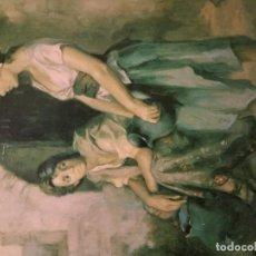 Arte: FRANCISCO RIBERA CUADRO LÁMINA BARNIZADA SOBRE TABLEX. Lote 206596131