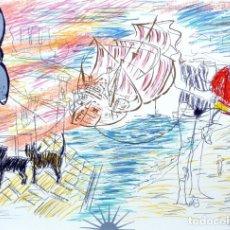 Arte: CARLOS PAZOS CHROMO -3 LITOGRAFÍA ORIGINAL FIRMADA Y NUMERADA 37/100 A LÁPIZ ED POLÍGRAFA PAP GUARRO. Lote 206881102