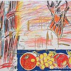 Arte: CARLOS PAZOS CHROMO -4 LITOGRAFÍA ORIGINAL FIRMADA Y NUMERADA 54/100 A LÁPIZ ED POLÍGRAFA PAP GUARRO. Lote 206931088