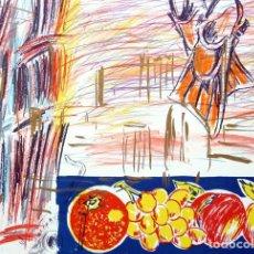 Arte: CARLOS PAZOS CHROMO - 4 LITOGRAFÍA ORIGINAL FIRMADA Y NUMERADA H.C. 4/15 A LÁPIZ ED POLÍGRAFA GUARRO. Lote 206970310