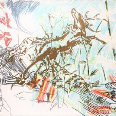Arte: CARLOS PAZOS CHROMO -5 LITOGRAFÍA ORIGINAL FIRMADA Y NUMERADA A LÁPIZ 37/100 ED POLÍGRAFA PAP GUARRO. Lote 207100708