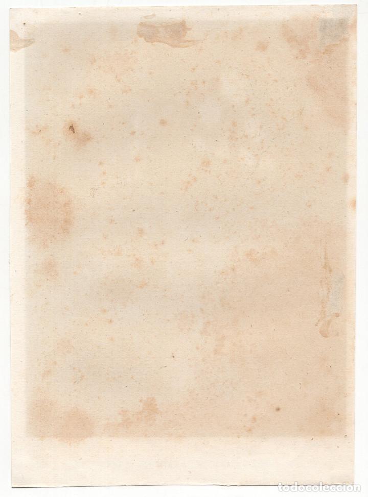 Arte: LEÓN.- NAVE LATERAL DE LA CATEDRAL DE LEÓN. LIT. DE J. DONON. 24X17,5. - Foto 2 - 207309156