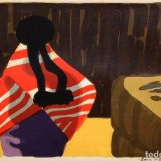 Arte: LARS NORRMAN (1915-1979) LITOGRAFIA CON TIRAJE Nº99/360. Lote 207485726