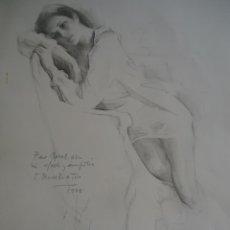 Arte: FELIX REVELLO DE TORO. LITOGRAFÍA DEDICADA FIRMADA Y AUTORIZADA POR EL AUTOR. Lote 207551447