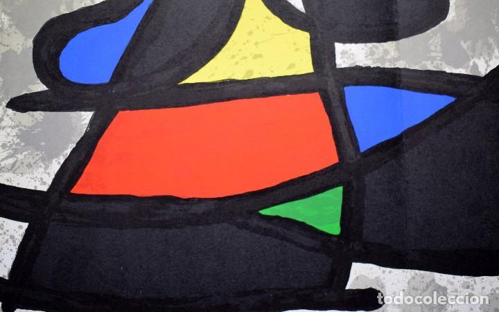 Arte: Joan Miró - Litografía enmarcada Derriere le Mirror - Foto 7 - 207818897