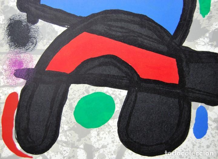 Arte: Joan Miró - Litografía enmarcada Derriere le Mirror - Foto 5 - 207819488