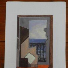 Art: PICASSO PABLO LITOGRAFIA FONDAZIONE FIRMA TAMPONE CERTIFICATO EX. 200. Lote 207820355