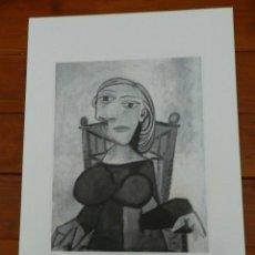 Art: PICASSO PABLO LITOGRAFIA FONDAZIONE FIRMA TAMPONE CERTIFICATO EX. 200. Lote 207829552