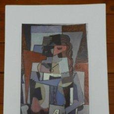 Art: PICASSO PABLO LITOGRAFIA FONDAZIONE FIRMA TAMPONE CERTIFICATO EX. 200. Lote 207830211