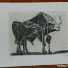 Art: PICASSO PABLO LITOGRAFIA FONDAZIONE FIRMA TAMPONE CERTIFICATO EX. 200. Lote 207831700
