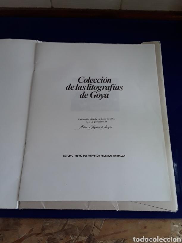 Arte: Coleccion de 22 litografías de GOYA(estudio previo del profesor Federico torralba) - Foto 2 - 208777101