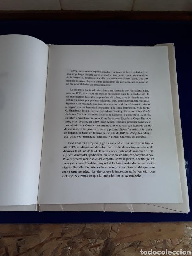Arte: Coleccion de 22 litografías de GOYA(estudio previo del profesor Federico torralba) - Foto 3 - 208777101