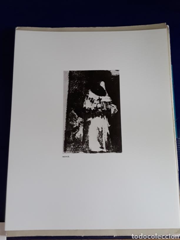 Arte: Coleccion de 22 litografías de GOYA(estudio previo del profesor Federico torralba) - Foto 7 - 208777101