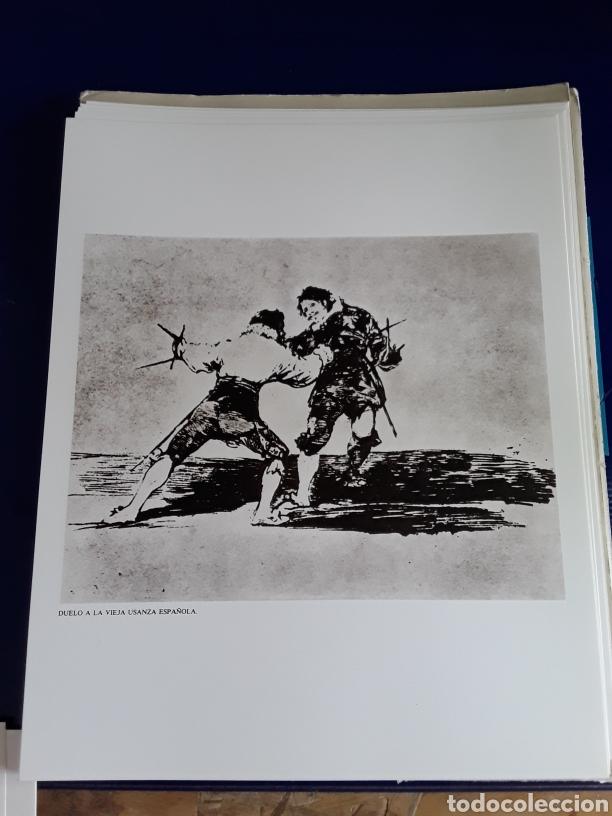 Arte: Coleccion de 22 litografías de GOYA(estudio previo del profesor Federico torralba) - Foto 8 - 208777101