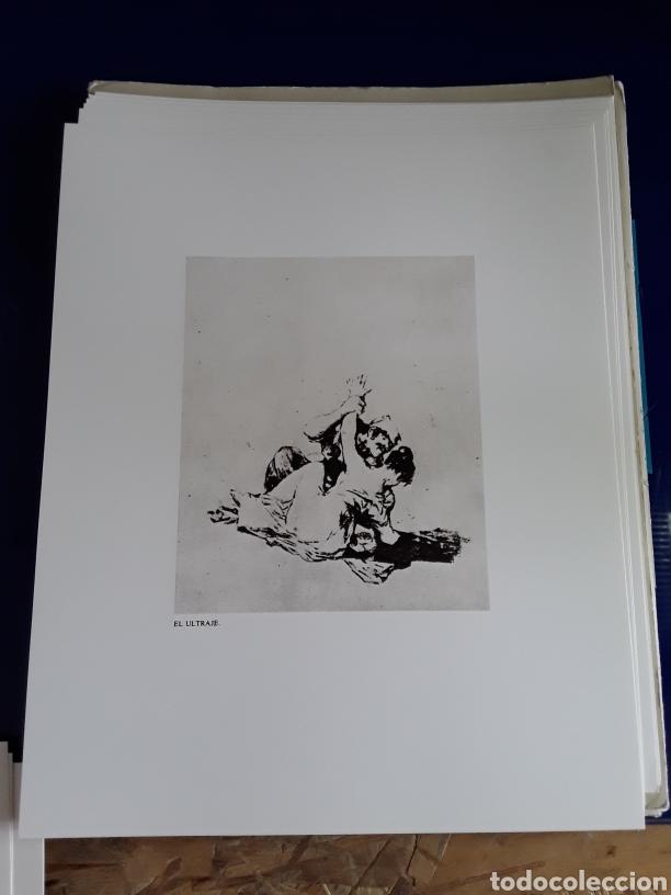 Arte: Coleccion de 22 litografías de GOYA(estudio previo del profesor Federico torralba) - Foto 10 - 208777101